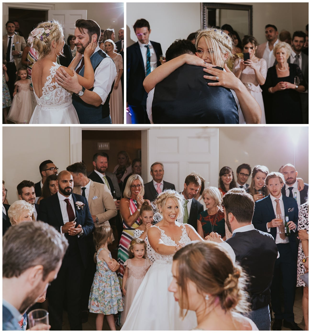 The first dance of the bride and groom at That Amazing Place