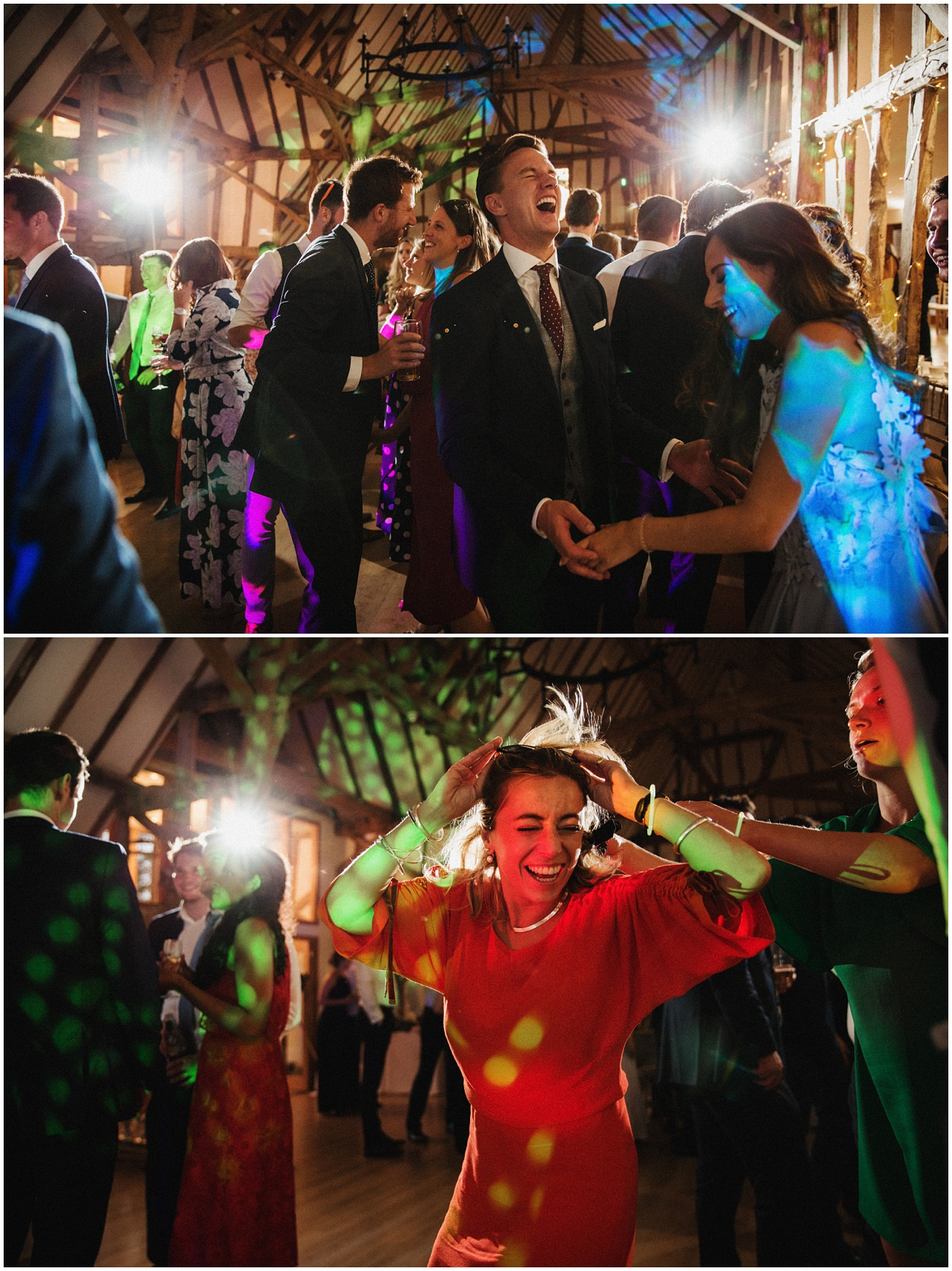 Guests have fun on the dance floor