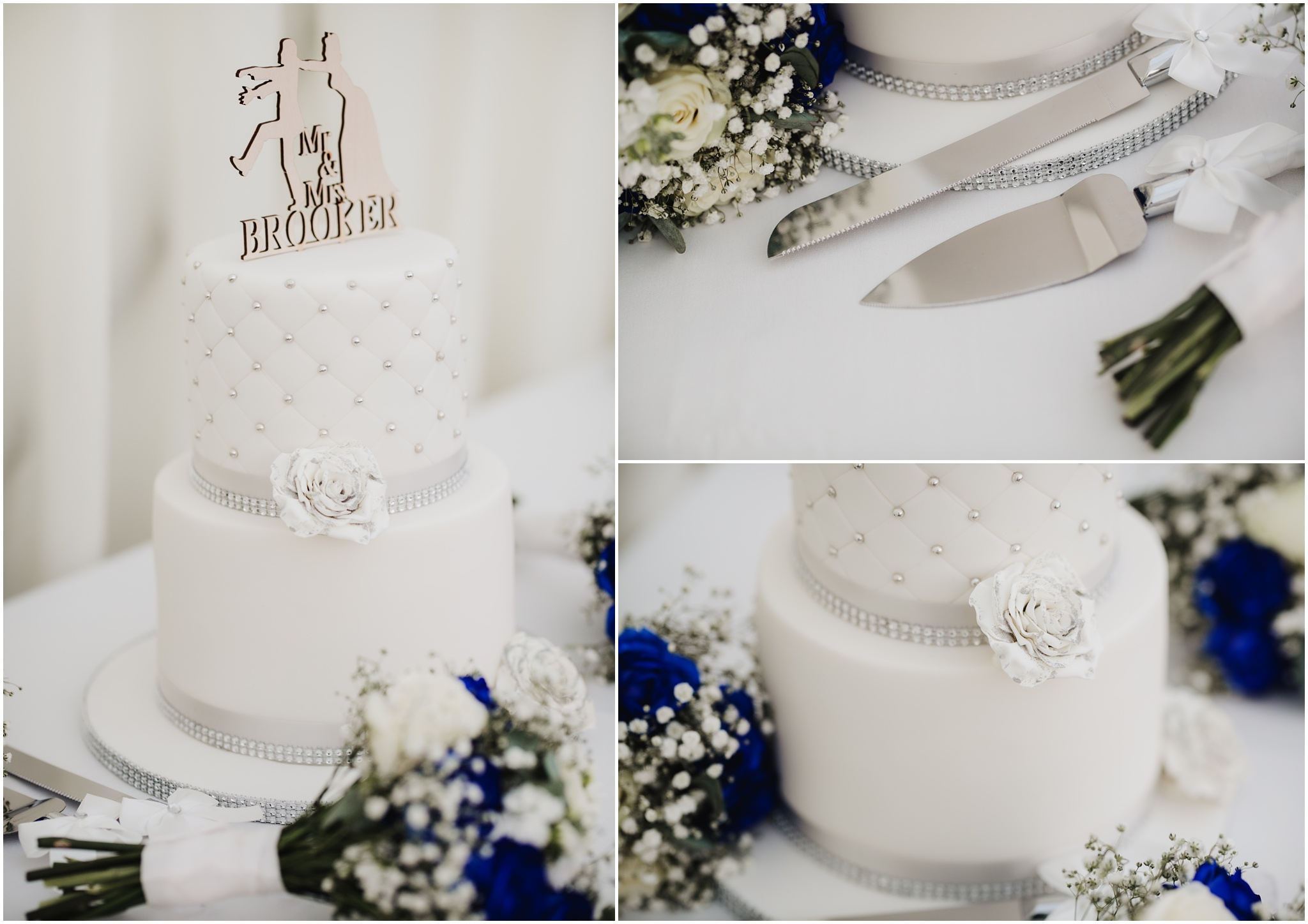 The Rochford Hotel wedding photography - Wedding cake