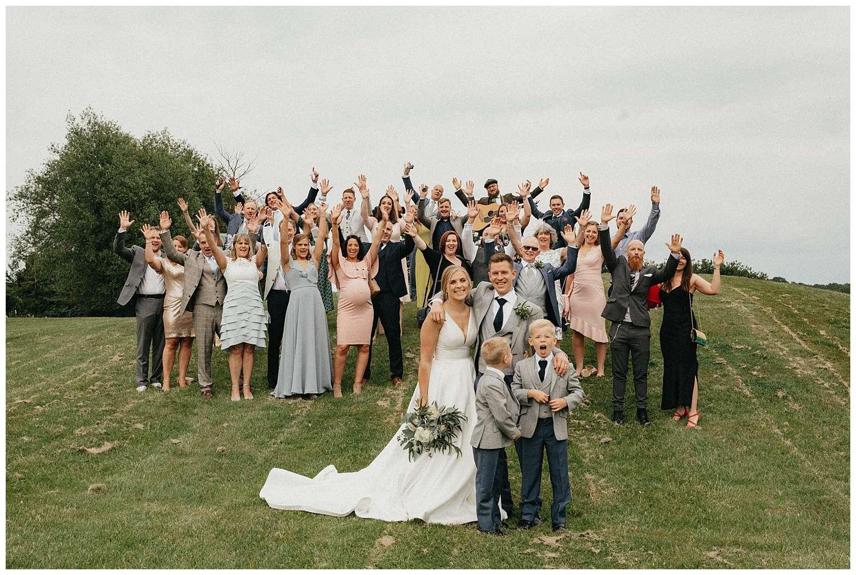 Weddings-at-Crondon-Park-the-full-group-shot