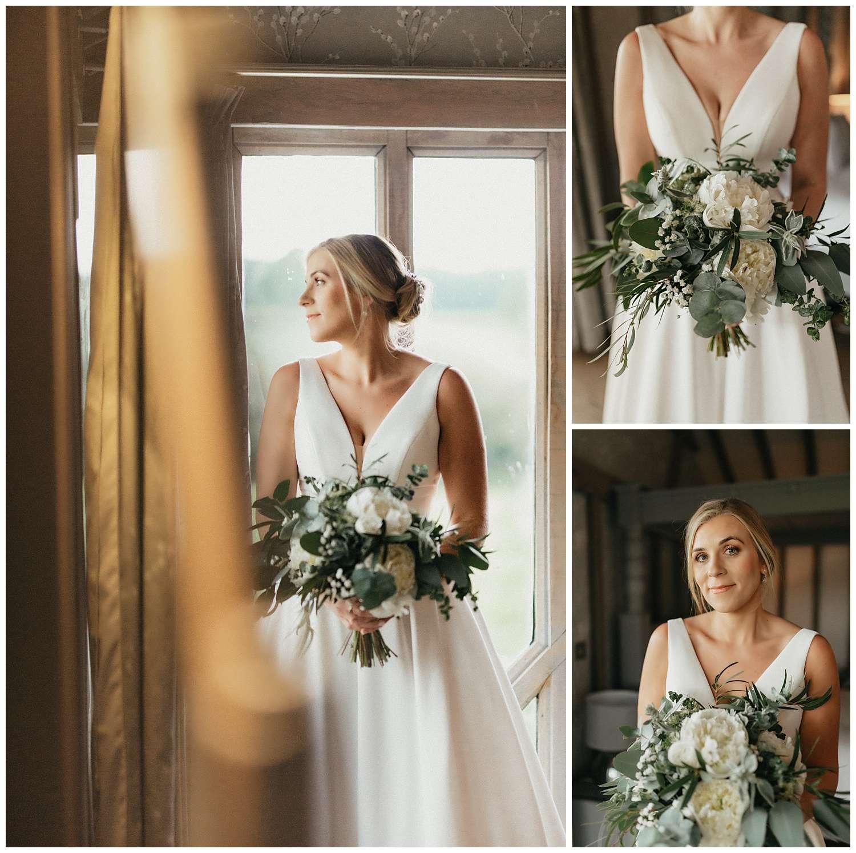 Weddings-at-Crondon-Park-portrait-of-the-bride