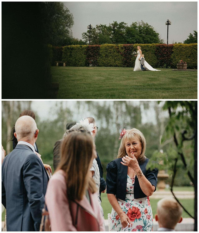 Weddings-at-Crondon-Park-the-bride-walks-down-the-aisle