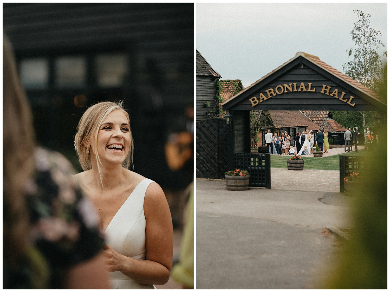 Weddings-at-Crondon-Park-the-bride-laughs