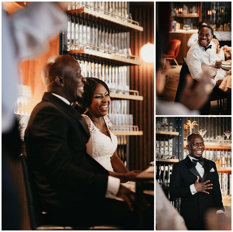 London Wedding Photographer - the speeches