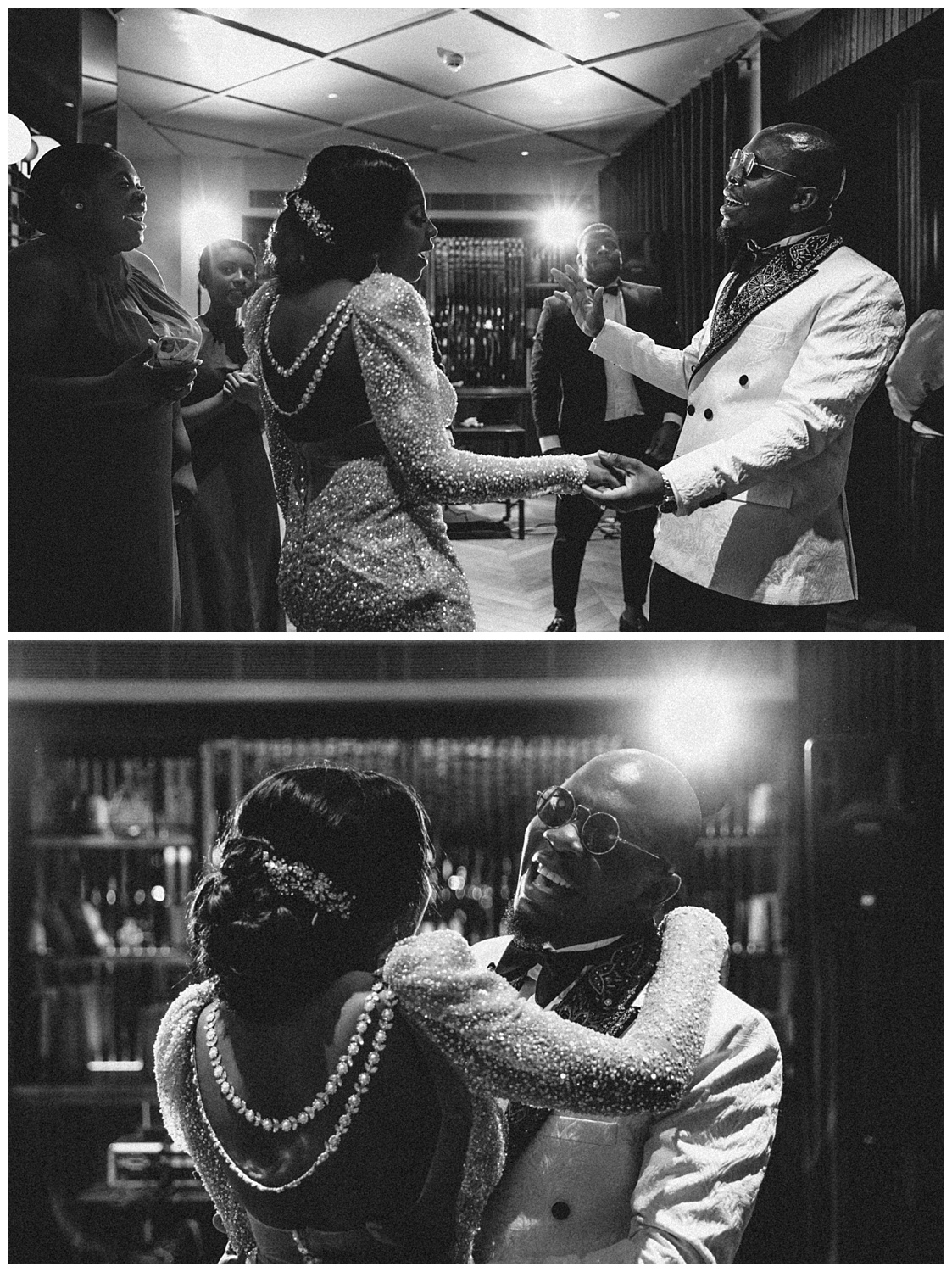 London Wedding Photographer - the party begins on the dance floor