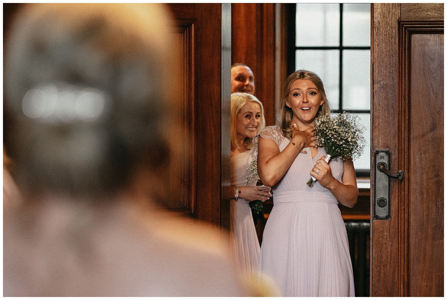 The Ivy Tower Bridge - First look with bridesmaids